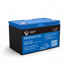 copy of Solar gel battery 100ah 12v discharge Lente-EcoWatt