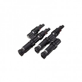 Conector MC4 doble macho y hembra Forma Y - PACK