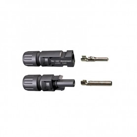 copy of MC4 male and female connectors Pair MC4 plug