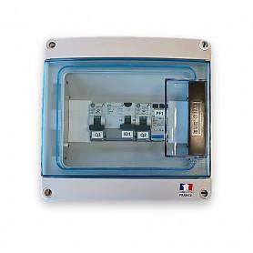 Caja de protección de CA monofásica - 3 / 4.5KW 20A General Electric