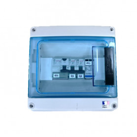 copy of AC MonoPhase Protection Box - 3KW 16A Schneider IC65N