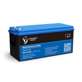 Batterie 200ah 12v Agm décharge Lente-Ultimatron