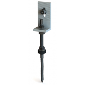 Lag Screw With Thread + Bracket