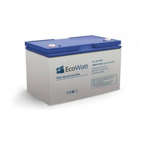 Batería de gel solar 100ah 12v descarga Lente-EcoWatt