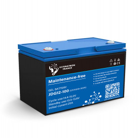 Batería solar agm 50ah 12v descarga Lente-Ultimatron