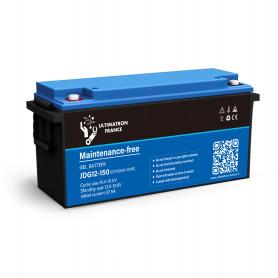 Solar battery agm 150ah 12v discharge Lente-EcoWatt