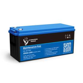 copy of Solar gel battery 200ah 12v discharge Lente-EcoWatt
