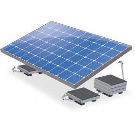 Kit de instalación para paneles solares en el piso