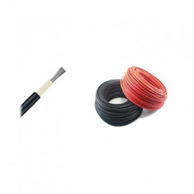 Solar cable 6 mm2 (by the meter) - Black