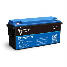 Batterie 150ah 12v Agm décharge Lente-Ultimatron