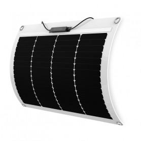 Panneau solaire 50w 12v mono PERC Shingled souple-flexible ETFE