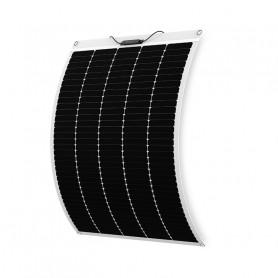 Panneau solaire 180w 12v mono PERC Shingled souple-flexible ETFE