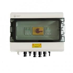 Caja de protección DC 600V 32A 2 MPPT con protector contra sobretensiones