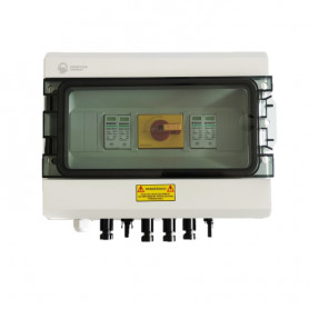 DC 600V 32A 2 MPPT Protection Box with Surge Protector