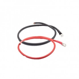 Battery connection cable - 2x1M converter, Section 10mm² / Sold By Pair