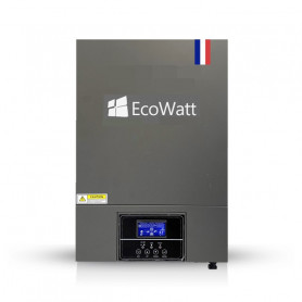 Inversor Híbrido 5.5kw V PLUS Alto Voltaje - 48V MPPT 100A - ECOWATT