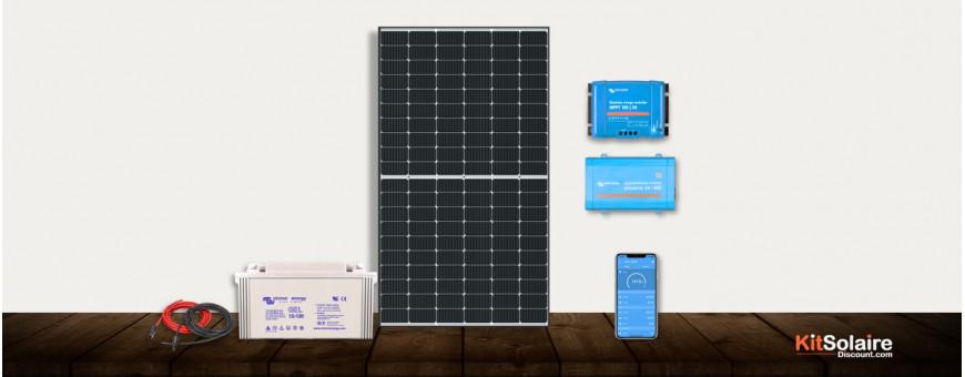 Kits solaires complets avec ou sans réseaux ERDF à monter soi-même | Grand choix Meilleur tarifs