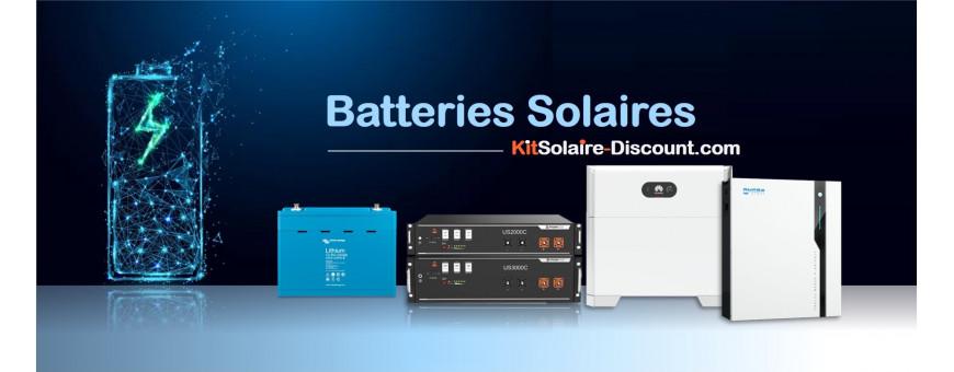 Batteries solaire