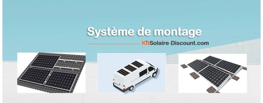 Système de Montage des panneaux solaires